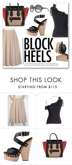 """Step Up: Block Heels"" by snobswap on Polyvore featuring Prada"