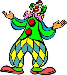 free clown clipart | Arthurs Free Color Circus clip art Page 1