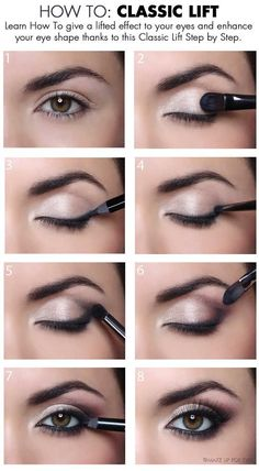 Give a lifted effect to your eyes and enhance your eye shape.
