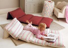 Sleepover Foldable Beds for Kids! - IcreativeD