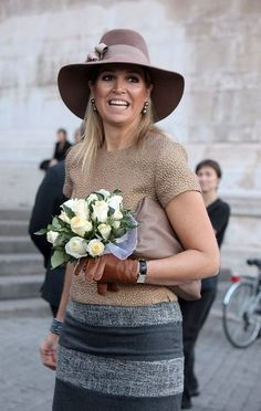 Maxima of the Netherlands on Oct. 6, 2011, Italy
