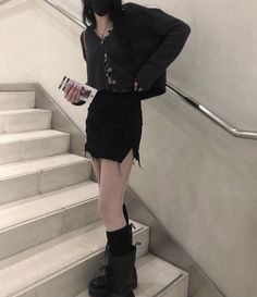 Edgy Outfits, Grunge Outfits, Grunge Fashion, Cute Casual Outfits, Pretty Outfits, Girl Fashion, Summer Outfits, Fashion Outfits, Alternative Fashion