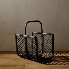 Image 1 of the product Rattan magazine rack Cebu, Zara Home Collection, Home Fragrances, Bathroom Accessories, New Homes, Basket, Chair, Storage, Furniture