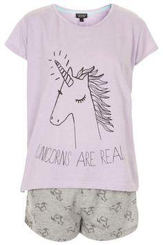 Einhorn-Pyjama