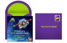 free toy story online invitation
