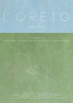 #FILM #CORTOMETRAJE #SHORT #CURT #CROWDFUNDING - Cartell de L'OREIG by Blanca Camell, Alexandra Jordana, Aina Pociello i Jose lopez pizarro.  L'oreig és l'espai de transició entre la infància i l'aparició dels primers símptomes de l'adolescència; és la història de com un incident sense importància accelerarà aquest procés vital de la Júlia (Zoe Stein). poster cartel +INFO: www.loreig.com campanya crowdfunding verkami www.verkami.com/projects/5414