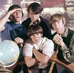 The Monkees Globe Photoshoot