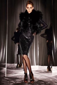 Tom Ford womenswear, i'm not normally one for the all black look but like this alot.