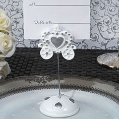 Royalty For A Day Place Card Holder - Unique Place Card Holders - Place Card Holders - Wedding Favors - Wedding Favors & Party Supplies - Favors and Flowers