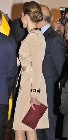 Crown Princess Letizia of Spain 2/20/2014