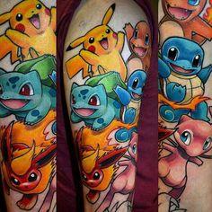 #pokemon #tattoo