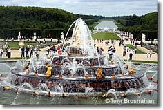 Fountains at the Palais de Versailles, near Paris, France