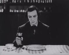 "A still from unused footage in Buster Keaton's ""The General"" (footage presumed to be destroyed)"