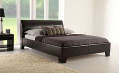 Seattle Bed http://www.furniturechoice.co.uk/Bedroom-Furniture/Leather-Beds/Seattle-Brown-Leather-Double-Bed_408101.htm