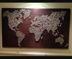 Global string art