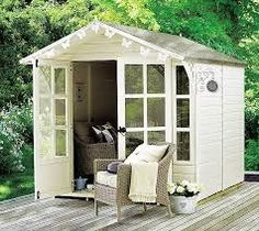 Interiors: She shed heaven – Home Office Design For Women Shed Building Plans, Diy Shed Plans, Man Cave Shed, Diy Shed Kits, Cool Sheds, Shed Interior, Greenhouse Shed, Zen Space, She Sheds