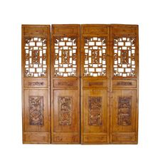 Asian style room divider screen contemporary