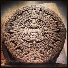 Calendario Azteca, Museo de Antropologia e Historia, nuestro pasado siempre presente.