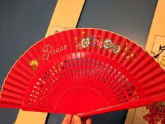 Spanish hand fan with name or monogram, Hand fan, Personalized fan, Custom fan, Made to order, Free shipping To USA, Folding fan Hand Fan, Spanish, Monogram, Free Shipping, Rose, Unique Jewelry, Handmade Gifts, Vintage, Painted Fan