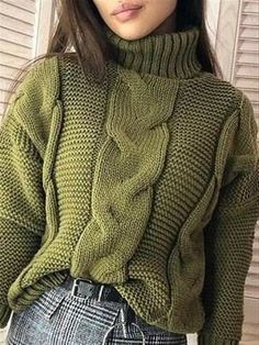 Winter Sweaters, Cable Knit Sweaters, Pullover Sweaters, Striped Sweaters, Oversized Sweaters, Cozy Sweaters, Plus Size Herbst, Sweaters Outfits, Plus Size Pullover