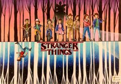 Stranger Things by artbox99.deviantart.com on @DeviantArt