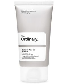 The Ordinary Salicylic Acid Masque - Size 50 ML The Ordinary Oily Skin, The Ordinary Azelaic Acid, The Ordinary Granactive Retinoid, The Ordinary Products, The Ordinary Skincare, The Ordinary Resveratrol, The Ordinary Salicylic Acid, The Ordinary Ascorbyl Tetraisopalmitate, Shopping