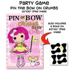 Printable DIY Pin the Bow on