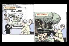 #Obamacare via Monitor Political Cartoons
