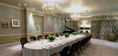 The Calistoga room is great for private #dining for special occasions. It is part of the wonderful Vineyard located in Stockcross #Newbury #Berkshire