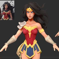 Little WIP of Nicola Saviori's Wonder Woman concept. Still a lot to be done but it's getting there :-) Will continue to update with progress shots every few days until the (hopefully soon) final stage.