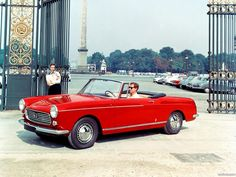 Peugeot 404 cabriolet, the second most beautiful car in the world