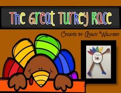 "This activity pack supports the funny Thanksgiving book, The Great Turkey Race, by Steve Metzger. This file contains the following:**running turkey creativity**a variety of reading response writing activities (primary handwriting lines and intermediate writing lines)**noun sorting activity (words from story)**comprehension quick check**competition match up activity (recalling facts)**beginning/middle/end activity**WANTED poster for the ""run away turkeys""The creativity is appropriate for all…"