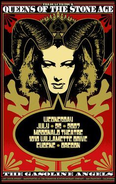 Queens of the Stone Age poster 2007 #qotsa
