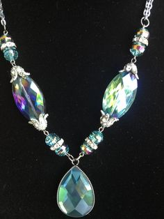 Chunky Statement Necklace One of a Kind by DesignsbyStalinda, $55.00