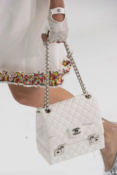 Accessories from Chanel's spring 2016 collection. Photo: Imaxtree.