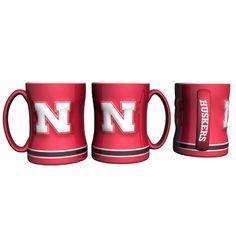 Nebraska Cornhuskers NCAA Coffee Mug - 15oz Sculpted (Single Mug)