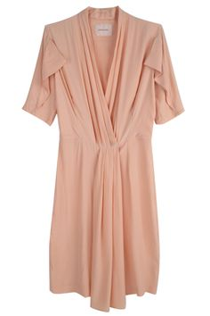 arnsdorf silk pleat dress $229