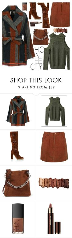 """""""October style"""" by puljarevic ❤ liked on Polyvore featuring Attic and Barn, Gianvito Rossi, Boohoo, Little Liffner, Urban Decay and NARS Cosmetics"""
