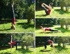 5 Total-body toning yoga poses