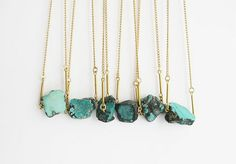 natural turquoise neclaces