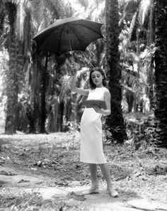 """Audrey Hepburn  """"The Nun Story""""   Belgian Congo  © Leo Fuchs 1958"""