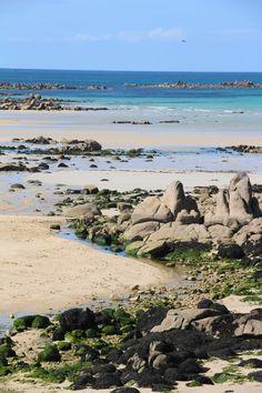 Côte des Sables - Le Paradis des plages de Plouescat - Finistère - Bretagne French Countryside, Solo Travel, Beautiful World, Strand, Travel Photography, Scenery, Beautiful Pictures, Ocean, Vacation