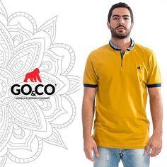 ¡Este color está genial! Diferente, único y original como tú. #PolosGoco que puedes llevar en todo momento y a cualquier lugar en la nueva oferta de #GocoIndia en la página web www.gococlothing.com y en nuestras tiendas en Medellín y Bucaramanga. Compras al por mayor vía  Whatsap 304 465 5529 #BeGoCo #LaMarcaDelGorila  #BeGoCo #Casualwear #Style #MenCollection #menstyleguide #polos #mensfashion #mensclothing #stylegram #fashiongram #algodón #cotton #hechoencolombia