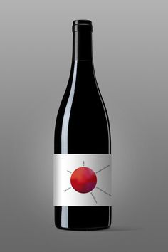 Artistic Wine Bottle