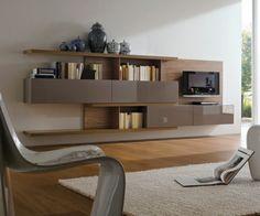 idee amenagement salon meuble TV