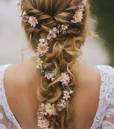 hair vine wedding half up ; hair vine wedding updo with veil ; Bridal Hair Up, Wedding Hair Flowers, Wedding Hair And Makeup, Wedding Beauty, Flowers In Hair, Hair Wedding, Wedding Blog, Plum Wedding, Whimsical Wedding Hair