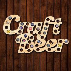 If You Enjoy Craft Beer Then This Is The Perfect Bottle Cap Sign For