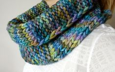Aujourdhui pattern by tante ehm. malabrigo Rasta, Indiecita color.