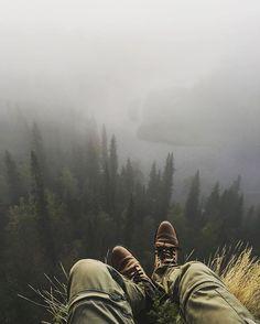 Morning views in Oulanka National Park. By Konsta Punkka