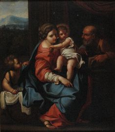 Carlo Maratti • Holy Family With St John • Oil on canvas • Herbert and May Shaw Bequest • 0753 #OilPainting #ArtGallery